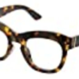 Peepers by PeeperSpecs Women's Bravado Focus Oversized Blue Light Filtering Reading Glasses, Tortois | Amazon (US)