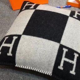 """""""H"""" Throw Pillow Cover- Pre Order Nov 30th   The Styled Collection"""