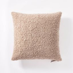 Boucle Throw Pillow with Exposed Zipper - Threshold™   Target