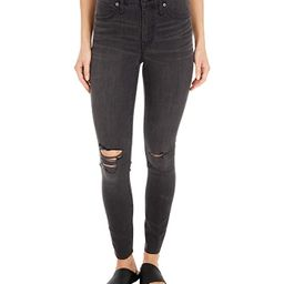 Madewell 9 Mid-Rise Skinny Jeans in Black Sea (Black Sea) Women's Jeans   Zappos