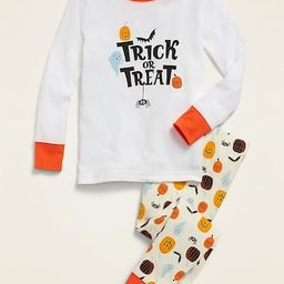 Glow-in-the-Dark Halloween Pajama Set for Toddler & Baby   Old Navy (US)