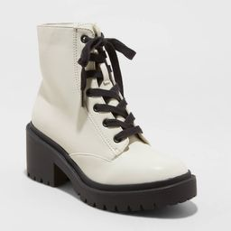 Womens Brie Lace Up Combat Boot - Universal Thread™ | Target