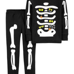 2-Piece Halloween Skeleton Snug Fit Cotton PJs   Carter's