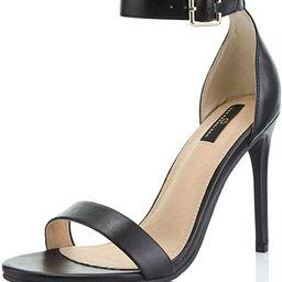 Women's High Heel Open Toe Ankle Buckle Strap Platform Evening Dress Casual Pump Sandal Shoes | Amazon (US)