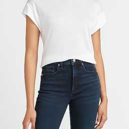 Bateau Neck Relaxed Tee | Express
