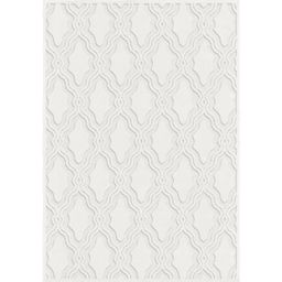My Texas House by Orian Indoor/Outdoor Cotton Blossom Off-White Area Rug | Wayfair North America