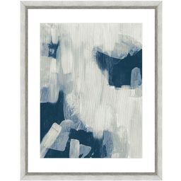 Vintage Print Gallery Abstract brushstrokes II Framed Archival Paper Wall Art (20 in. x 24 in. in fu   The Home Depot