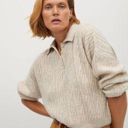 Polo style sweater | MANGO (US)