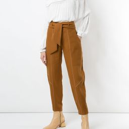 Alegra linen trousers | Farfetch (US)