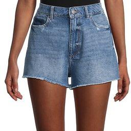 Cleo High-Rise Denim Shorts | Saks Fifth Avenue OFF 5TH