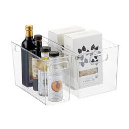 iDesign Linus Kitchen Bins | The Container Store