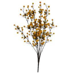 Golden Yellow Pom Pom Bush by Ashland®   Michaels Stores