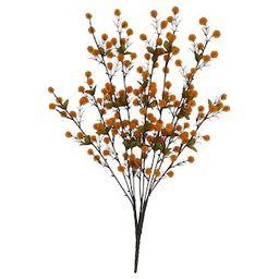 Orange Pom Pom Bush by Ashland®   Michaels Stores