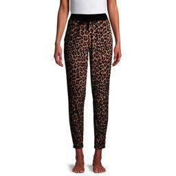 Secret Treasures Women's and Women's Plus Velour Lounge Pajama Joggers | Walmart (US)