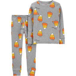 Toddler Carter's Candy Corn Top & Bottoms Pajama Set   Kohl's