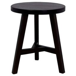 Chase End Table Dark Brown - Threshold™   Target