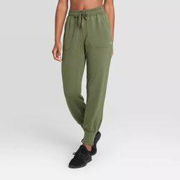 Women's Mid-Rise Cozy Jogger Pants - JoyLab™   Target