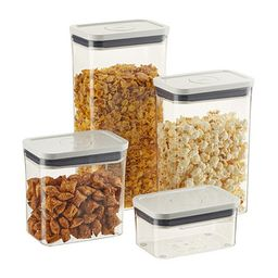 OXO Good Grips POP Rectangle Canisters | The Container Store