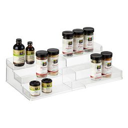 iDesign Linus Expandable Cabinet & Spice Organizer | The Container Store