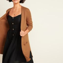 Long-Line Open-Front Sweater for Women | Old Navy (US)