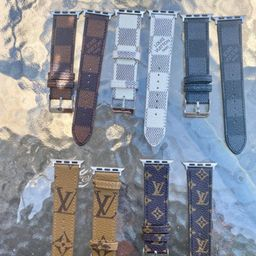 Handmade Apple Watch Band Leather for apple watch series 5 4 3 2 1 38/40mm 42/44mm | Etsy (US)