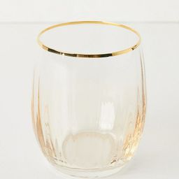 Waterfall Stemless Wine Glasses, Set of 4   Anthropologie (US)
