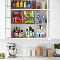 Case of 8 T.H.E. Narrow Pantry Bin | The Container Store