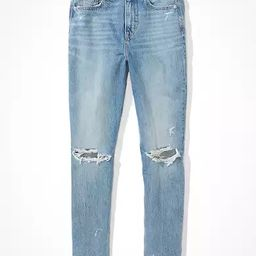 AE Comfort Stretch Waistband Mom Jean | American Eagle Outfitters (US & CA)