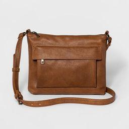Zip Closure Crossbody Bag - Universal Thread™ | Target