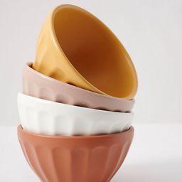 Matte Latte Bowls, Set of 4 | Anthropologie (US)