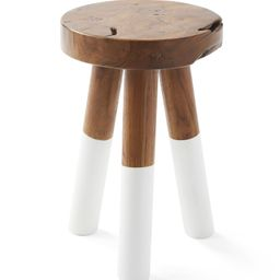Dip-Dyed Stools | Serena and Lily