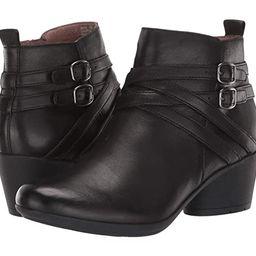 Dansko Roberta (Black Burnished Calf) Women's Shoes | Zappos