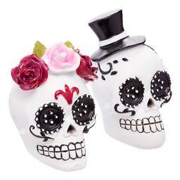 Way to Celebrate Dia de los Muertos Sugar Skulls, Set of 2   Walmart (US)