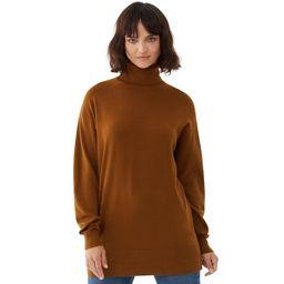 Free Assembly - Free Assembly Women's Turtleneck Tunic Sweater - Walmart.com   Walmart (US)