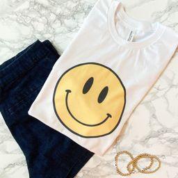 Smile /vintage feel/ unisex fit women's tee | Etsy (US)