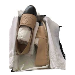 Chanel Leather Espadrilles for Men 44 IT | Vestiaire Collective (Global)