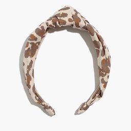 Knotted Covered Headband | Madewell