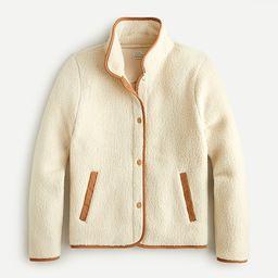 Polartec® sherpa fleece jacket | J.Crew US