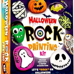 XXTOYS Halloween Rock Painting Kit - Glow in The Dark Rock Painting for Kids - Arts and Crafts fo... | Amazon (US)