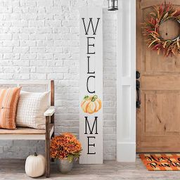 Welcome Pumpkin Porch Board   Kirkland's Home