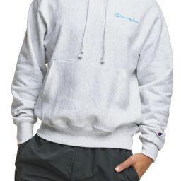 Reverse Weave® Script Chest Logo Hoodie   Nordstrom