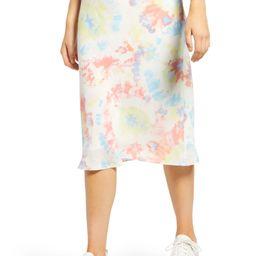 Print Bias Cut Skirt   Nordstrom