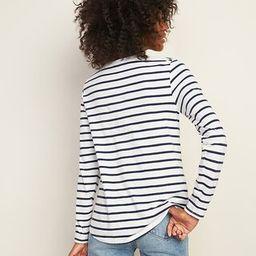 EveryWear Striped Slub-Knit Long-Sleeve Tee for Women   Old Navy (US)