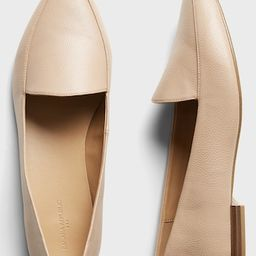 Textured Pointed Toe Loafer   Banana Republic Factory
