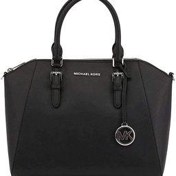 Michael Kors Large Ciara Top Zip Saffiano Leather Stachel | Amazon (US)