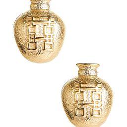 Ginger Jar Stud - Gold | Lisi Lerch Inc