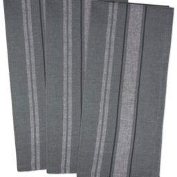 Chambray French Stripe Woven Dishtowel, Set of 3 | Macys (US)