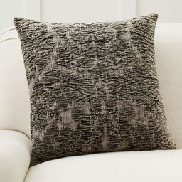"""Isabella Chenille Jacquard Pillow Cover, 20 x 20"""""""", Forest Green 
