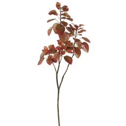 Artificial Cotinus Coggygria Branch (4ft) Red - Vickerman | Target