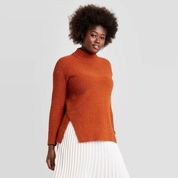 Women's Mock Turtleneck Tunic Pullover Sweater - A New Day™ | Target